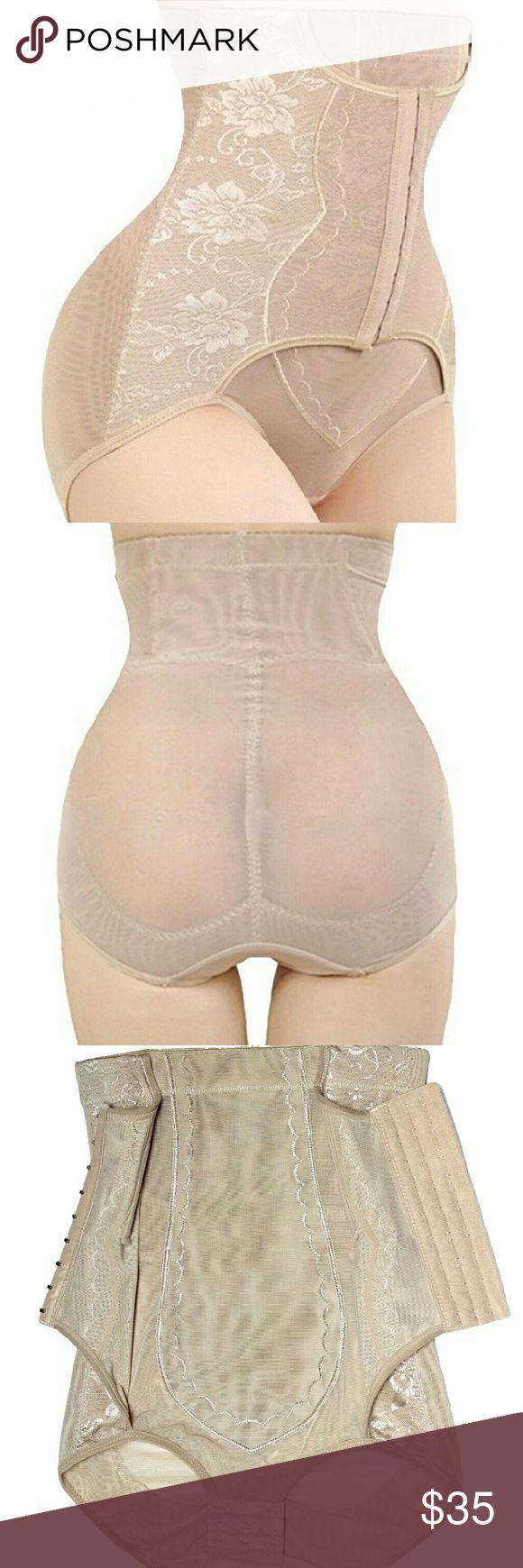 Clip zip waist trainer perfect floral design waist training cinchers - Brand New With Tag Shaperqueen 1020 Women Best Waist Cincher Girdle Belly Trainer Corset Body Shapewear