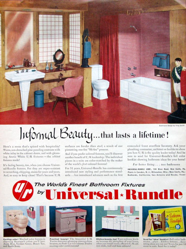 Cool Retro Bathrooms 28 best vintage bathrooms & fixtures images on pinterest