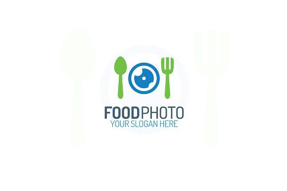 Food photo logo by MIRARTI on @creativemarket