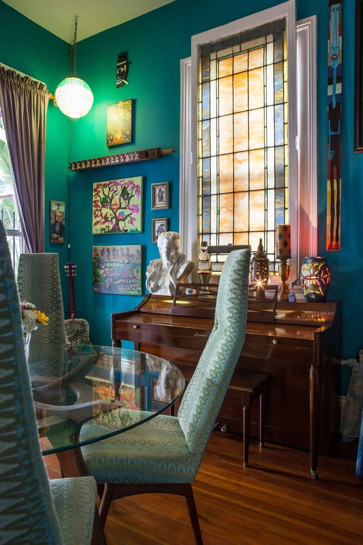 Wonderful A Vibrant, Colorful, Art Filled New Orleans Home Part 13
