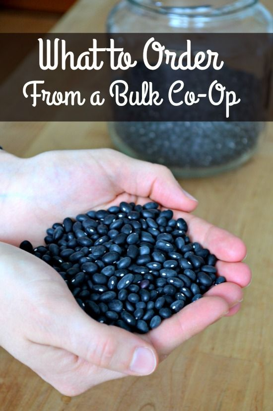 New to ordering food in bulk? Here are tips on what to order from a bulk coop!