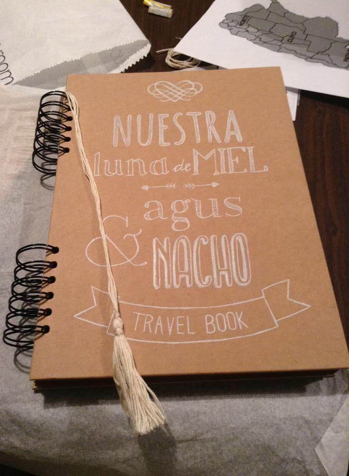 """Diseño album """"Nuestra luna de miel"""""""