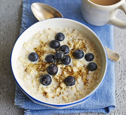 Put this oaty breakfast into your slow cooker before bed and wake up to a bowl of creamy comfort in the morning. Add your favourite toppings
