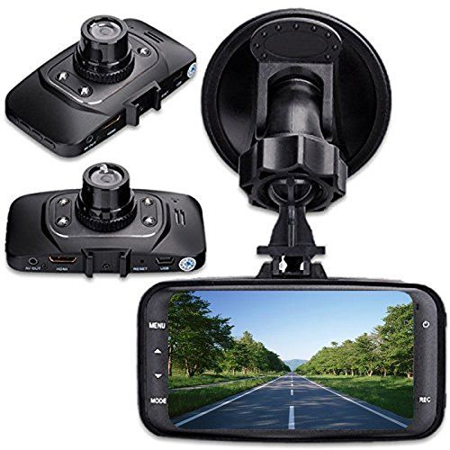 """digitsea 2.7"""" 1080P HD TFT Screen Car DVR Vehicle Camera Video Recorder camcorder Road Dash Cam GS 8000 with HDMI interface wide-angle Night Vision and Motion Detection"""