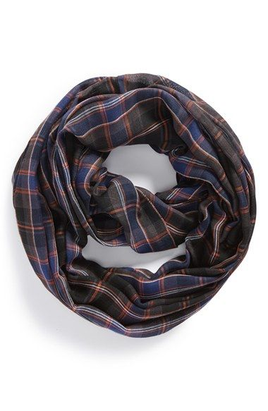 Free shipping and returns on Sole Society Plaid Infinity Scarf at Nordstrom.com. Add a dash of ladylike-lumberjack flair to your favorite jeans-and-tee combo with this cozy plaid infinity scarf.
