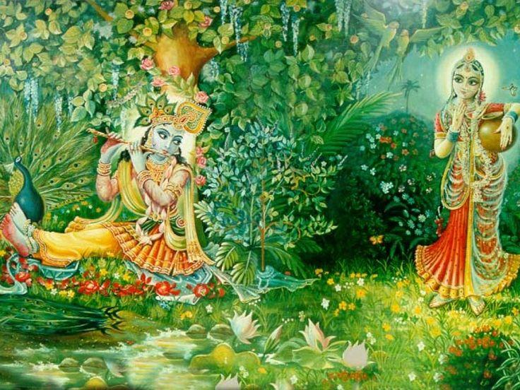 radha krishna jhoola swing pictures - Google Search