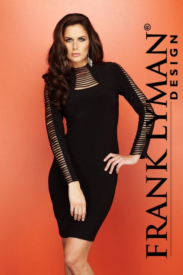Another amazing piece from Frank Lyman Design Fall 2012 collection #FrankLyman #chic #LBD