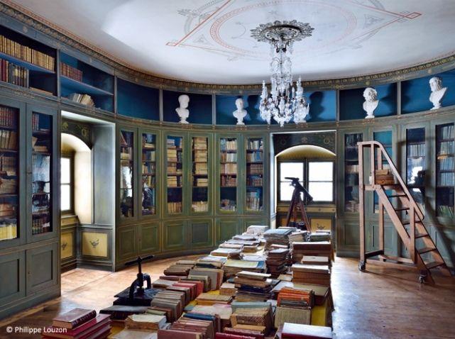Bibliothèque du château de sya
