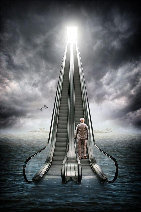 Knocking On Heaven S Door By Ralf Mack Art Movement
