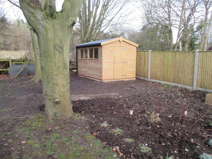 Garden Sheds Kent 143 best customer garden sheds images on pinterest | garden sheds