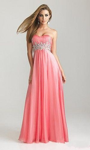 Salmon prom dress | Prom!! :) | Pinterest | Beautiful ... Salmon Prom Dresses 2013