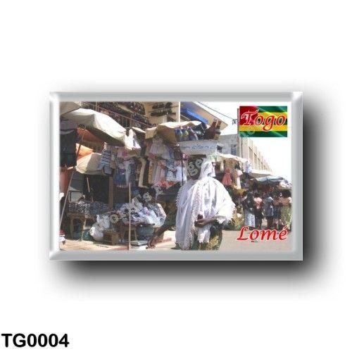 TG0004 Africa - Togo - Lomé - Grand marché