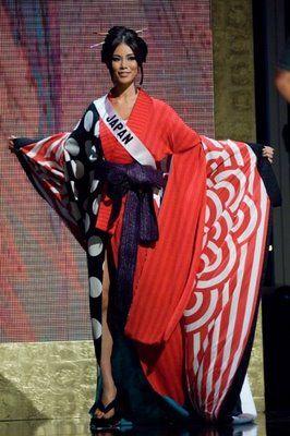 thecrowncompetitors: Riyo Mori, Miss universe 2007