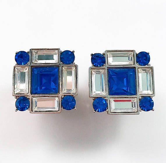 SALE  YSL Earrings  Yves Saint Laurent Vintage Signed