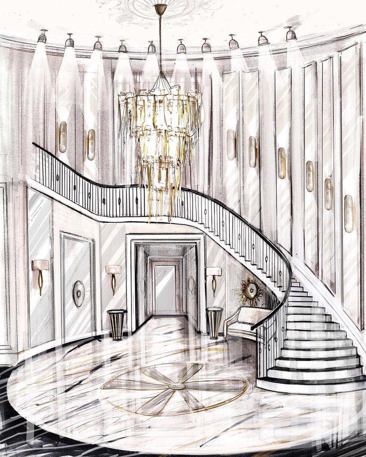 Architecture Interior Design: 17 Best Ideas About Interior Sketch On Pinterest