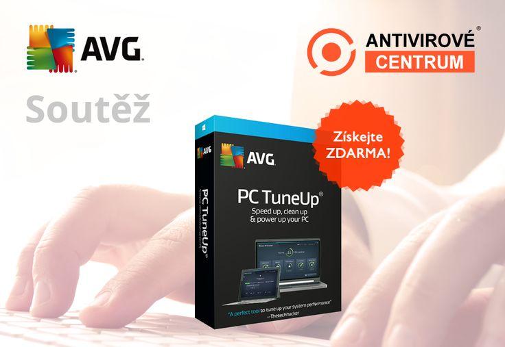 Soutěž o AVG PC TuneUp 2016  Ze správných odpovědí vylosujeme výherce, který od nás získá software AVG PC TuneUp pro 1 PC na rok zdarma. https://www.antivirovecentrum.cz/aktuality/avg-pc-tune-up-2016-zdarma.aspx