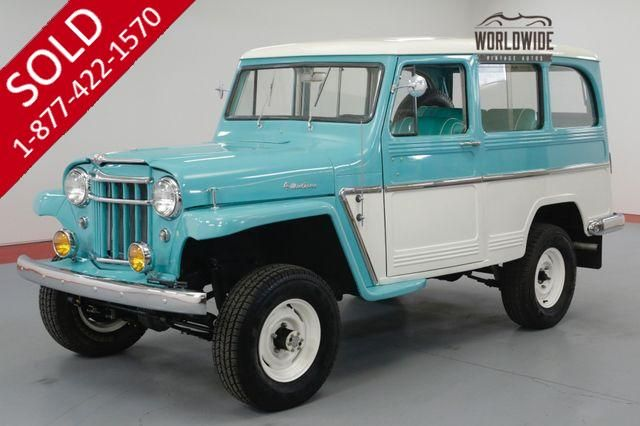 Wagon Willys 1969 Vin 5416862186 Worldwide Vintage Autos