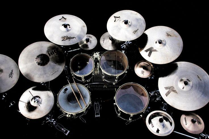 Heavy Metal Drums Set
