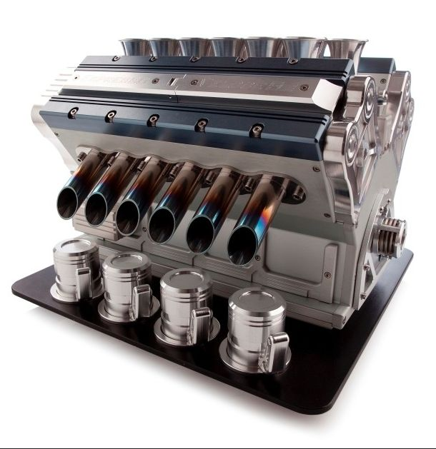 "This Badass V12 #Coffee Machine Is Ready To REV Up Your Day! Meet the ""most beautifully engineered espresso machine in the world"" Also the most #expensive! Hit the pic to find out more..."
