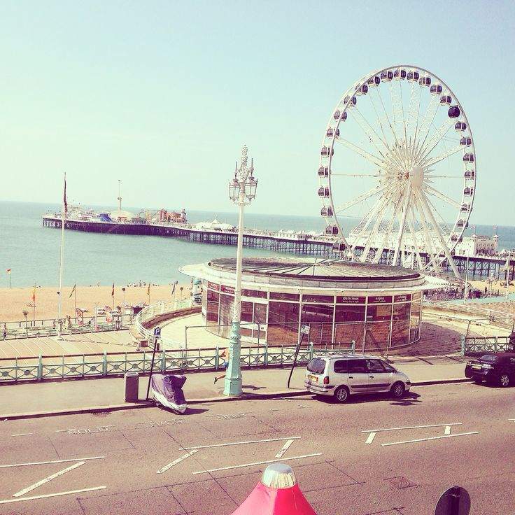 Picture I took from Legends hotel...the beautiful Brighton pier
