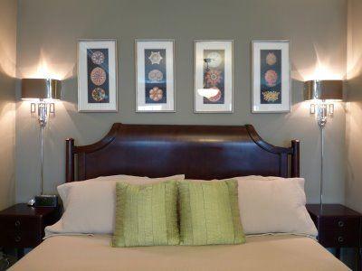 17 best ideas about bedroom sconces on pinterest tufted for Recamaras matrimoniales