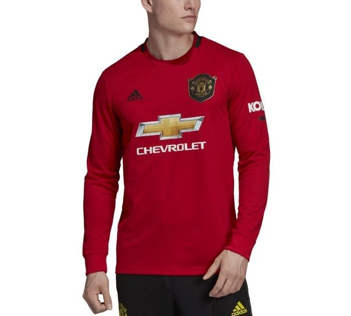 Men S Manchester United Home Longsleeve Jersey 2019 20 Youth Adidas Eric Bailly Red Man In 2020 Manchester United Manchester United Away Kit Manchester United Jacket