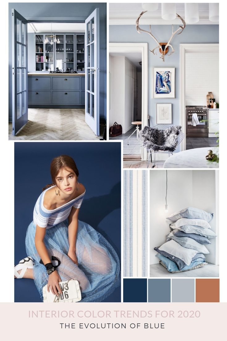 Interior Color Trends For 2020 The Evolution Of Blue Colorful
