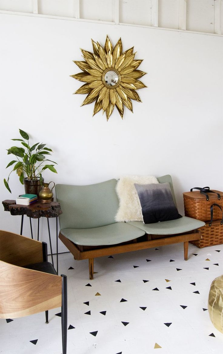 DIY: painted floor #diy #crafts