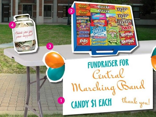 how to get the most out of your table setup oldfashioncandy fundraisingtips fundraisingideas fundraising ideashow
