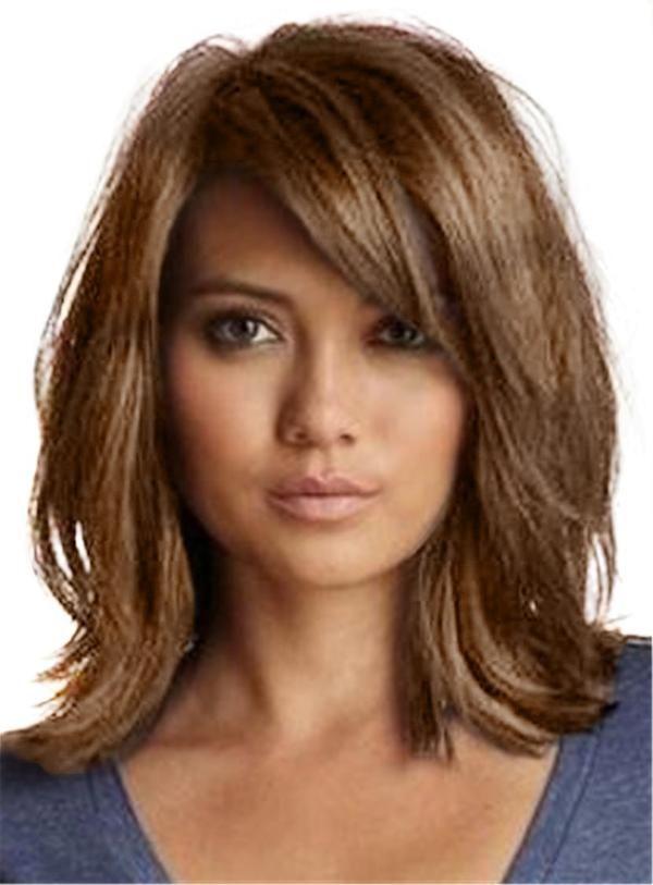 Girls Capless Wavy Artificial Hair 14 Inches Wigs