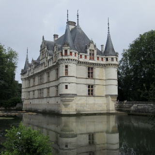 Chateau Azay de Rideau, France