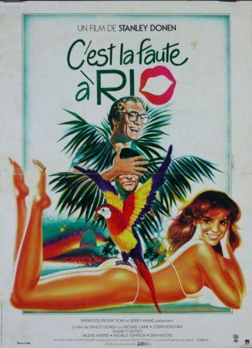 Michael-Caine-Demi-Moore-Joseph-Bologna-CEST-LA-FAUTE-A-RIO-Stanley-Donen-1984