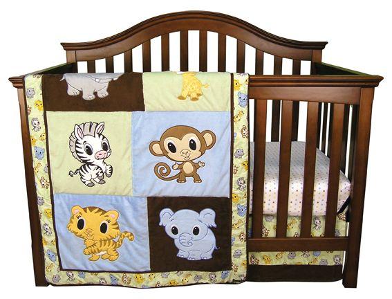 Chibi Zoo - 3 Piece Crib Bedding Set Item #:106524 Regular price:$109.09