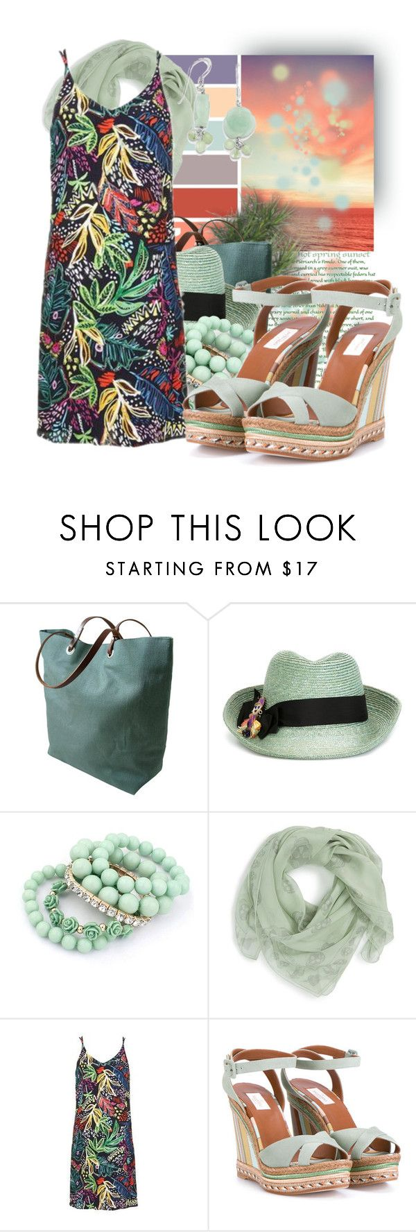 """""""Alexander McQueen Silk Scarf"""" by tasha1973 ❤ liked on Polyvore featuring Seed Design, Independent Reign, Etro, Alexander McQueen, Topshop and Valentino"""