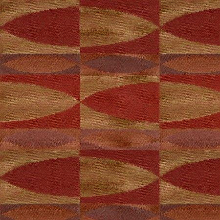 Tissu Décor Maison - Crypton Galanthus 17 Bordeau