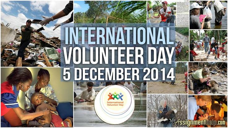 """Myassignmenthelp.com: People's Participation. Make change happen, volunteer! """"On this International Volunteer Day, let us be inspired by the many individuals who selflessly serve others, and let us resolve to do our part to contribute, freely and proactively, to change conditions now towards a better future for all."""""""