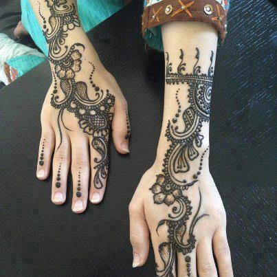 mehndi bridals