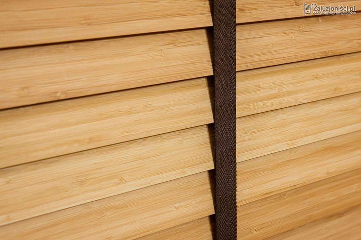 Żaluzje drewniane 50mm - Żaluzjoniści
