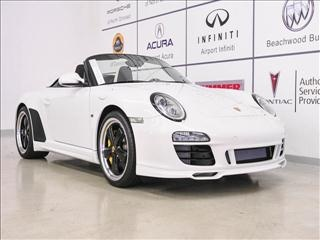 2011 White Porsche 911 Speedster http://www.iseecars.com/used-cars/used-porsche-for-sale