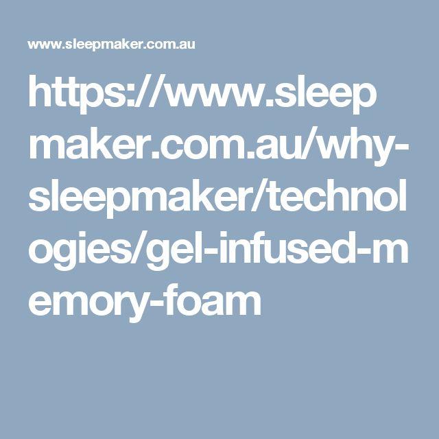 https://www.sleepmaker.com.au/why-sleepmaker/technologies/gel-infused-memory-foam