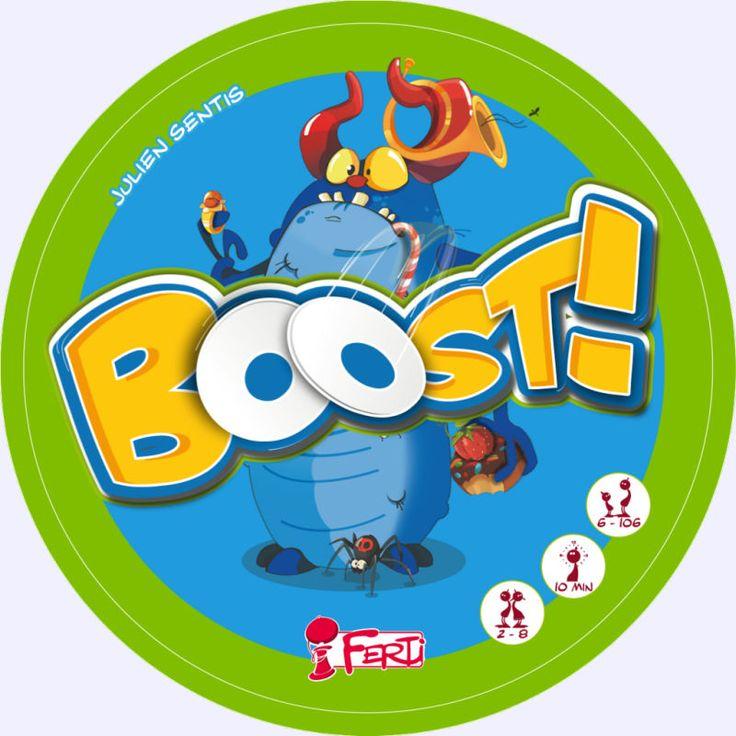 Boost: jeu de société chez Jeux de NIM