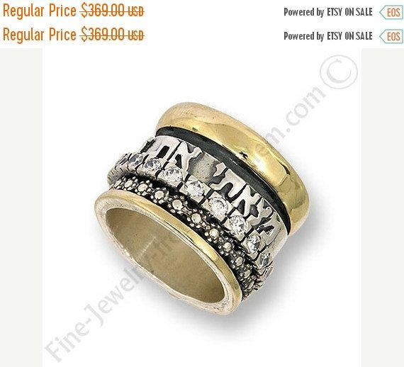 8 best Hebrew Wedding Rings images on Pinterest Promise rings