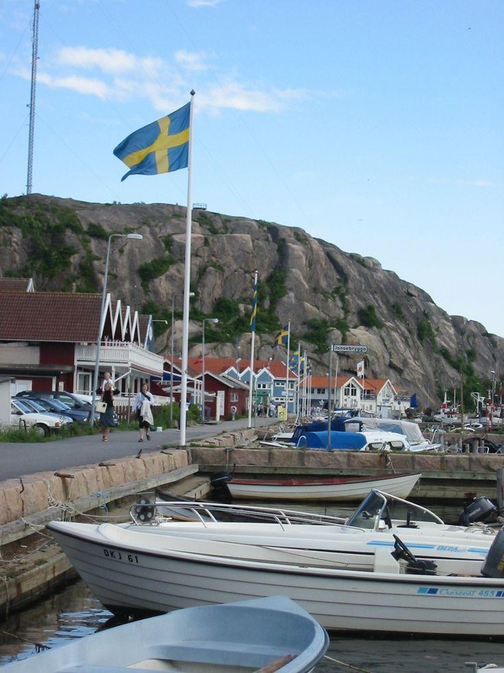 Grebbestad (Bohuslän) Sweden