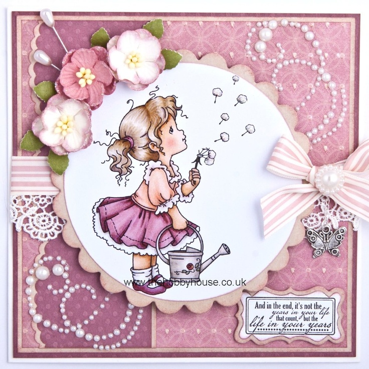 The Hobby House Wee Stamps - Sweet Blossom