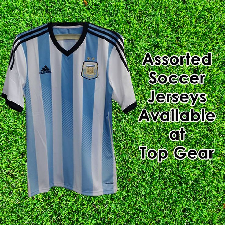 Looking for your favourite soccer team's jersey? Visit Top
