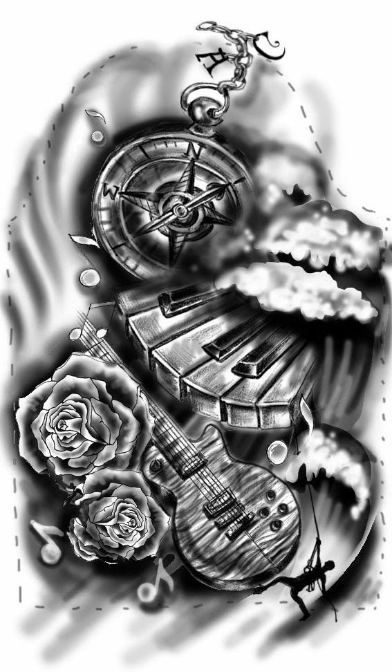 Veggiemuse art and design blog custom half sleeve tattoo for Full custom tattoo