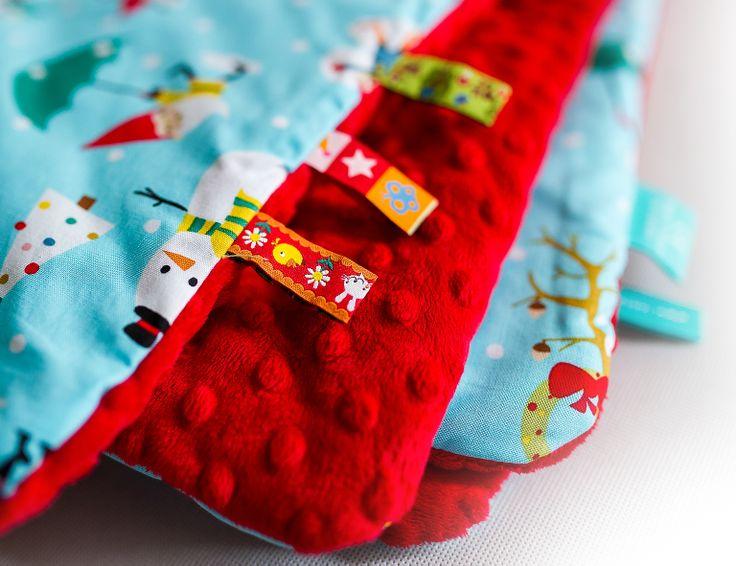 LOOLYBY blanket - cute tags