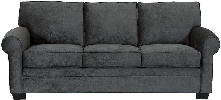 Living Room Furniture Designed2b Dov Chenille Sofa Charcoal Living Room Pinterest
