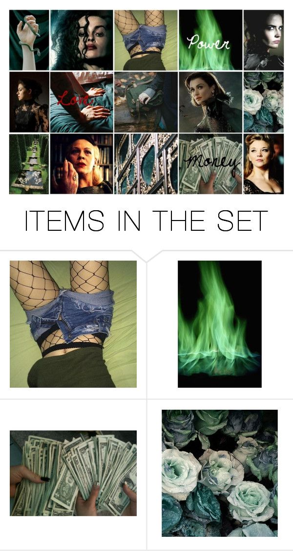 """""""~The Black Sisters~"""" by little-flemo ❤ liked on Polyvore featuring art"""