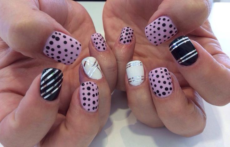 Pinky!  #acryllic nails